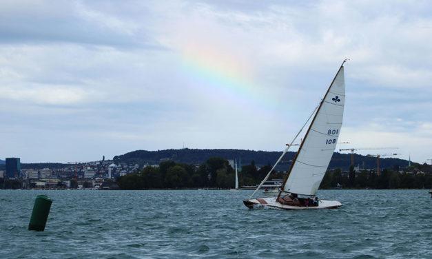 Herbstpreis I – Anspruchsvolle Bedingungen und Charly Nauer mit Crew Martin Nauer und Felix Weilenmann gewinnt souverän