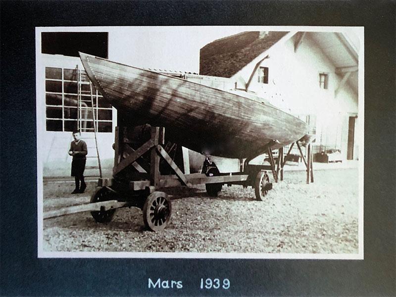 Der erste Lacustre Goleron, gebaut in 1939. Foto Archives Copponex