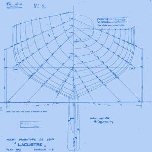 Originalplan Lacustre, Henri Copponex, 1938.