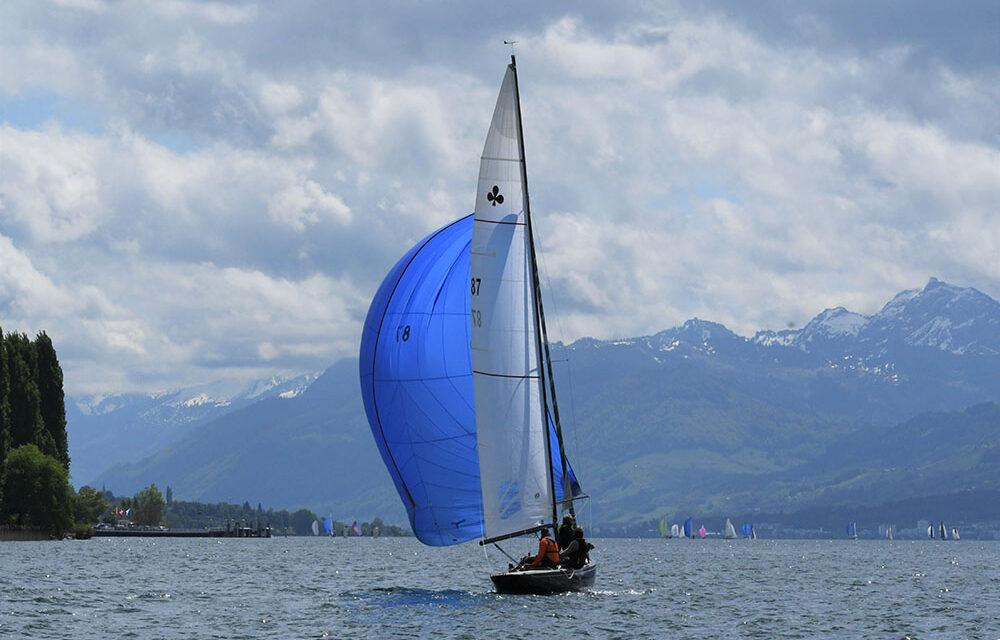 Distanzfahrt und Pfingstregatta auf dem Zürichsee